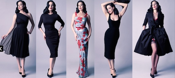 Dita Von Teese dresses Fashion Digital 