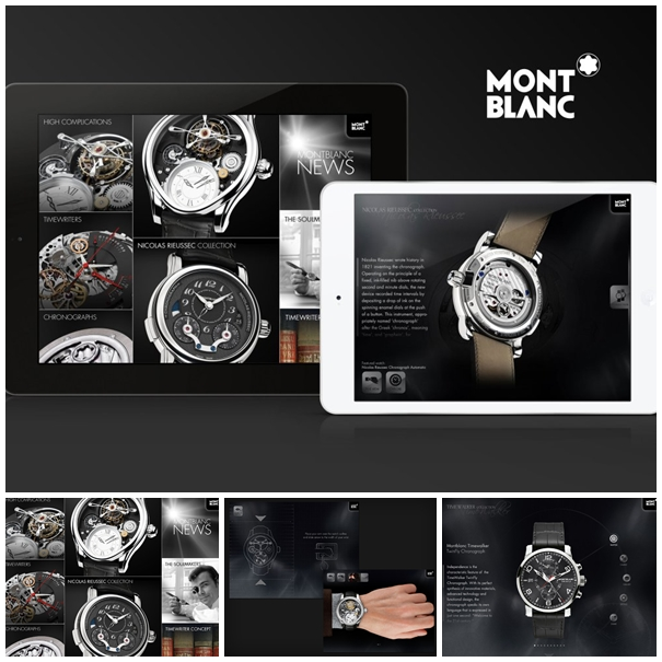 timepieces ipad Lhorloge tourne