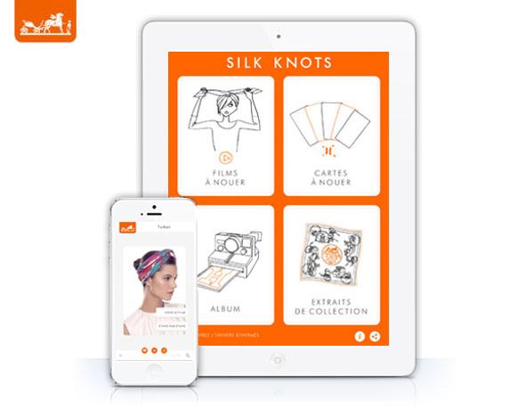 Hermes-Silk-Knots-iPhone-iPad-1