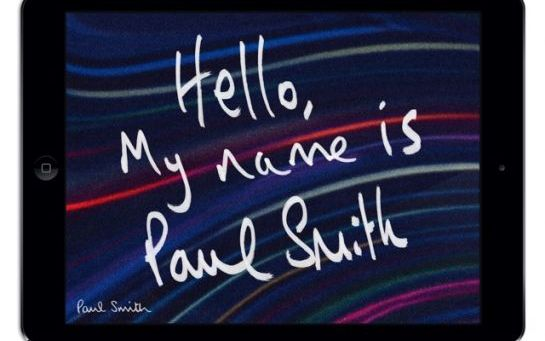 my name is paul smith ipad